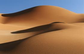 zand verkopen in de woestijn